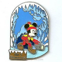 Disney Expedition Everest Pin - Countdown Day 5