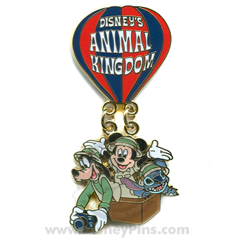 Disney Animal Kingdom Pin - Logo