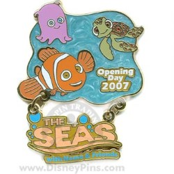Disney The Seas with Nemo & Friends Pin - Opening Day