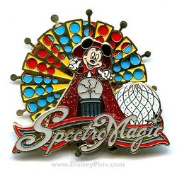 Disney SpectroMagic Parade Pin - Spinner