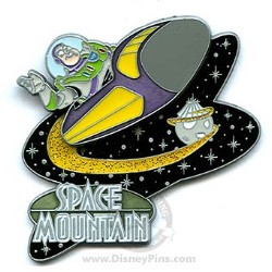 Disney Gasp, Grasp & Go! Pin - Space Mountain - Buzz Lightyear
