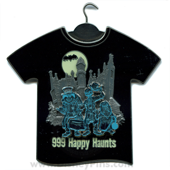 Disney Jumbo Pin - T-Shirt Series - The Haunted Mansion