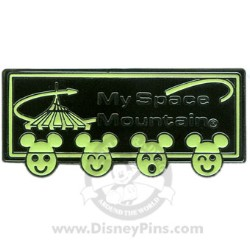 Disney My Space Mountain Pin