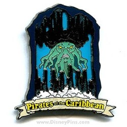 Disney Pirates of the Caribbean Pin - Attraction - Davy Jones