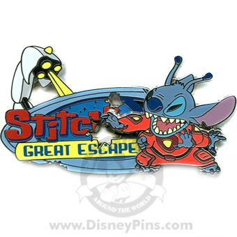 Disney Stitch S Great Escape Pin Logo