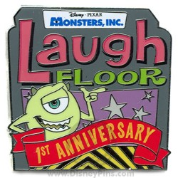 Disney Laugh Floor Pin - 1st Anniversary