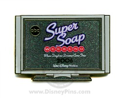 Disney Super Soap Weekend Pin - 2006