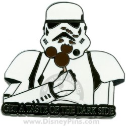 Disney Stormtrooper Pin - Mickey Mouse Ice Cream Bar