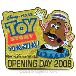 Disney Toy Story Mania Pin - Opening Day 2008