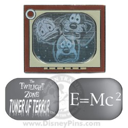 Disney Tower of Terror Pin - Television Set