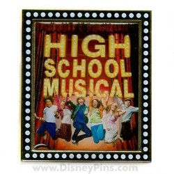 Disney High School Musical Pin - Movie Poster