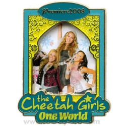 Disney Cheetah Girls Pin - One World - Premiere