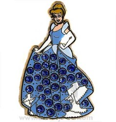 Disney Princess Pin - Cinderella - Jeweled