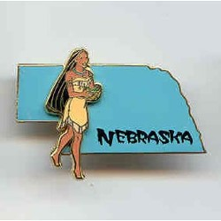 Disney State Program Pin - Nebraska