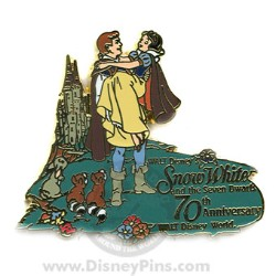 Disney Snow White Pin - 70th Anniversary