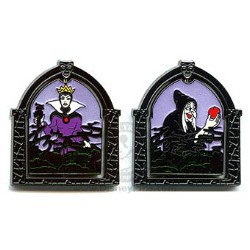 Disney Evil Queen Pin - Transformation