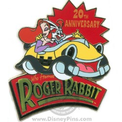 Disney Roger Rabbit Pin - 20th Anniversary