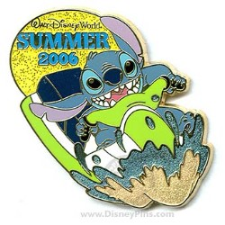 Disney Stitch Pin - Summer Fun