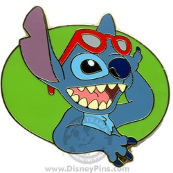 Disney Stitch Pin - Sunglasses