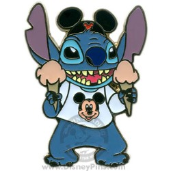 Disney Stitch Pin - with Ice Cream