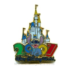 Disney Stitch Pin - 2007 Cinderella Castle Collection