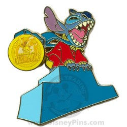 Disney Summer of Champions Pin - Stitch