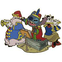 Disney Stitch Pin - Bandleader