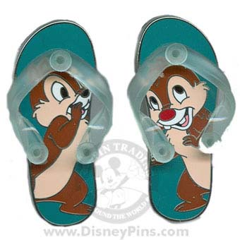 Disney Chip and Dale Pin - Sandals