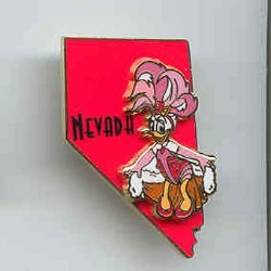 Disney State Program Pin - Nevada