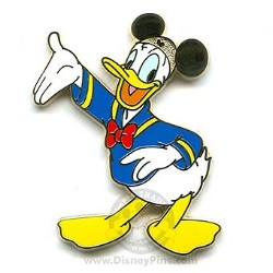 Disney Donald Pin - Golden Ear Hat Collection