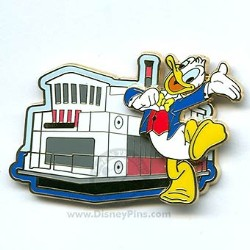 Disney Pursuit Pin - Magical World of Transportation - Ferry Boat