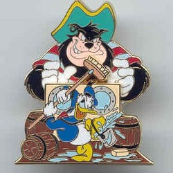 Disney Donald Pin - Rescue Captain Mickey