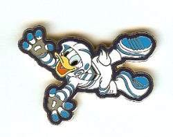 Disney Donald Pin - Mission Space