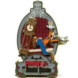 Disney Friday the 13th Pin - The Haunted Mansion - Goofy