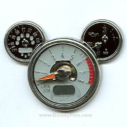Disney Mickey Icon Pin - Tachometer