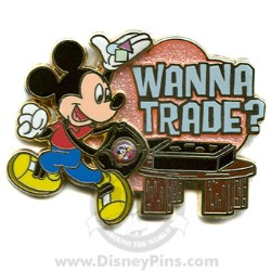 Disney Wanna Trade Pin - Mickey Mouse
