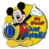 Disney Character Pin - Moods - Mickey Mouse