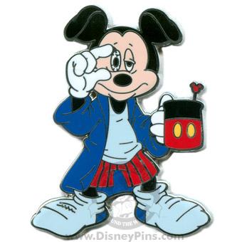 Disney Mickey Pin Morning