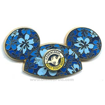 competitive price a055d 356c1 Add to My Lists. Disney Mickey Ears Hat Pin - Hibiscus ...