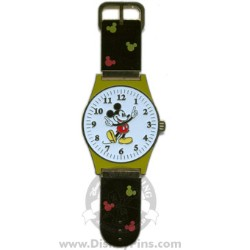 Disney Watches Pin - Mickey Mouse