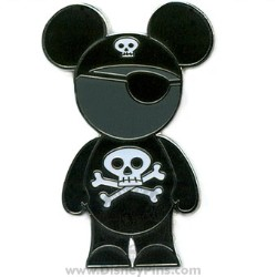 Disney Mickey Pin - Ears People - Pirate