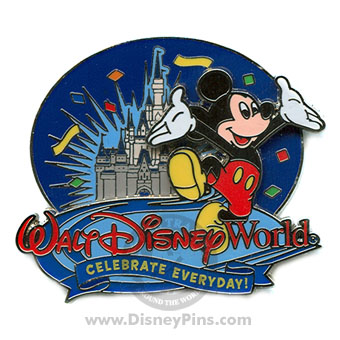 Disney Celebrate Everyday Pin - Walt Disney World Resort