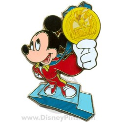 Disney Summer of Champions Pin - Mickey Mouse