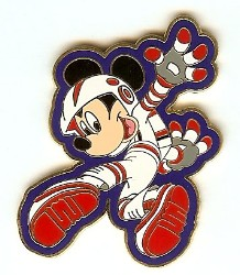 Disney Mickey Pin - Mission Space