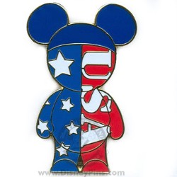Disney Mouse Ears People Pin - Americana