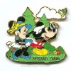Disney Mickey and Minnie Pin - Spring