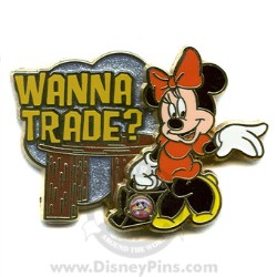 Disney Wanna Trade Pin - Minnie Mouse