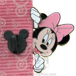 Disney Lanyard Peeker Pin - Minnie Mouse