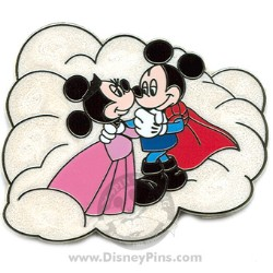 Disney Couples Pin - Aurora and Phillip