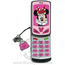 Disney Cell Phone Pin - Minnie Mouse